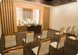 家族葬ホール〜祭壇〜