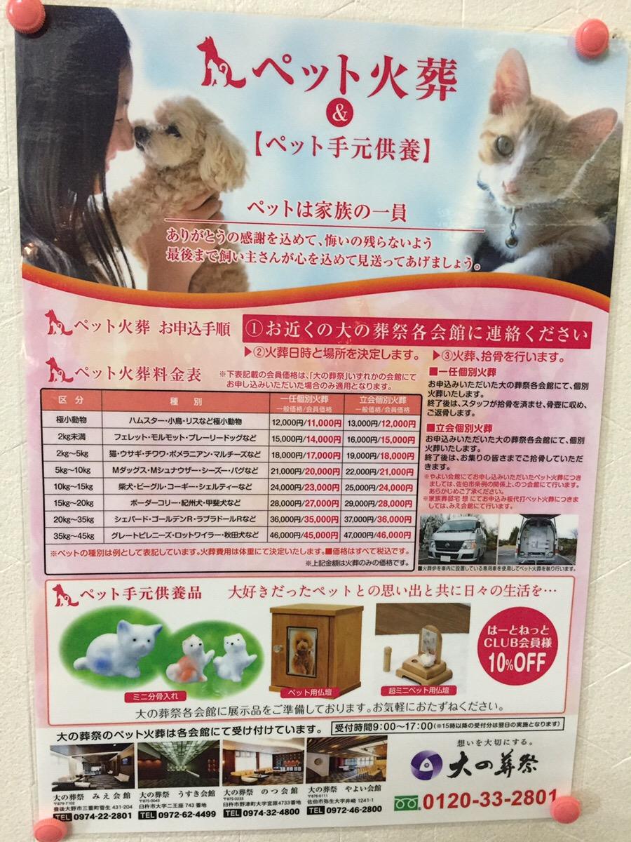 想いのメモ帳(うすき会館)2018/8/10
