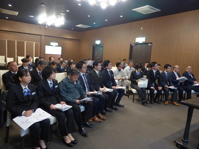 第48期 仕事始め式・会社方針発表会1