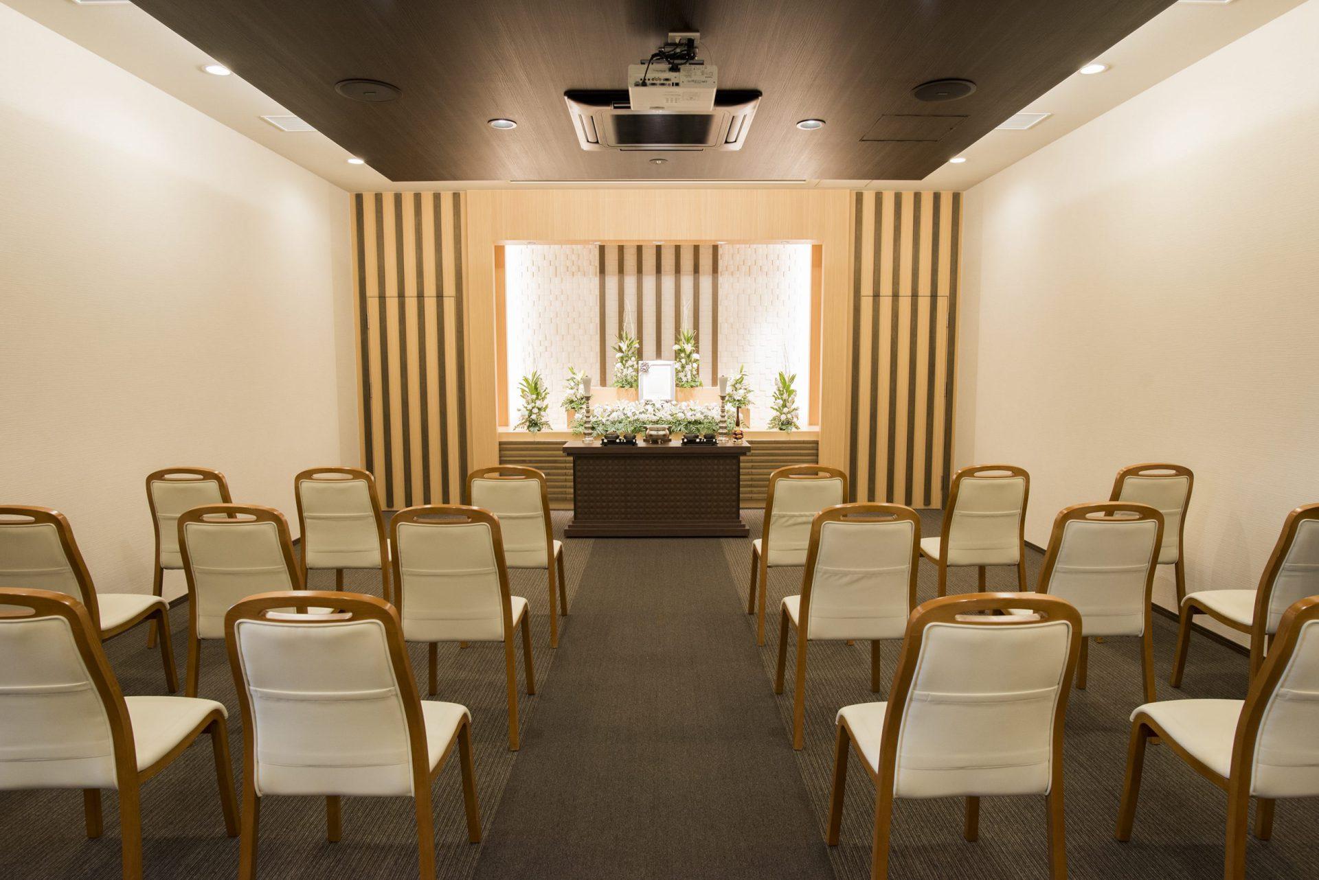 家族葬ホール 式場